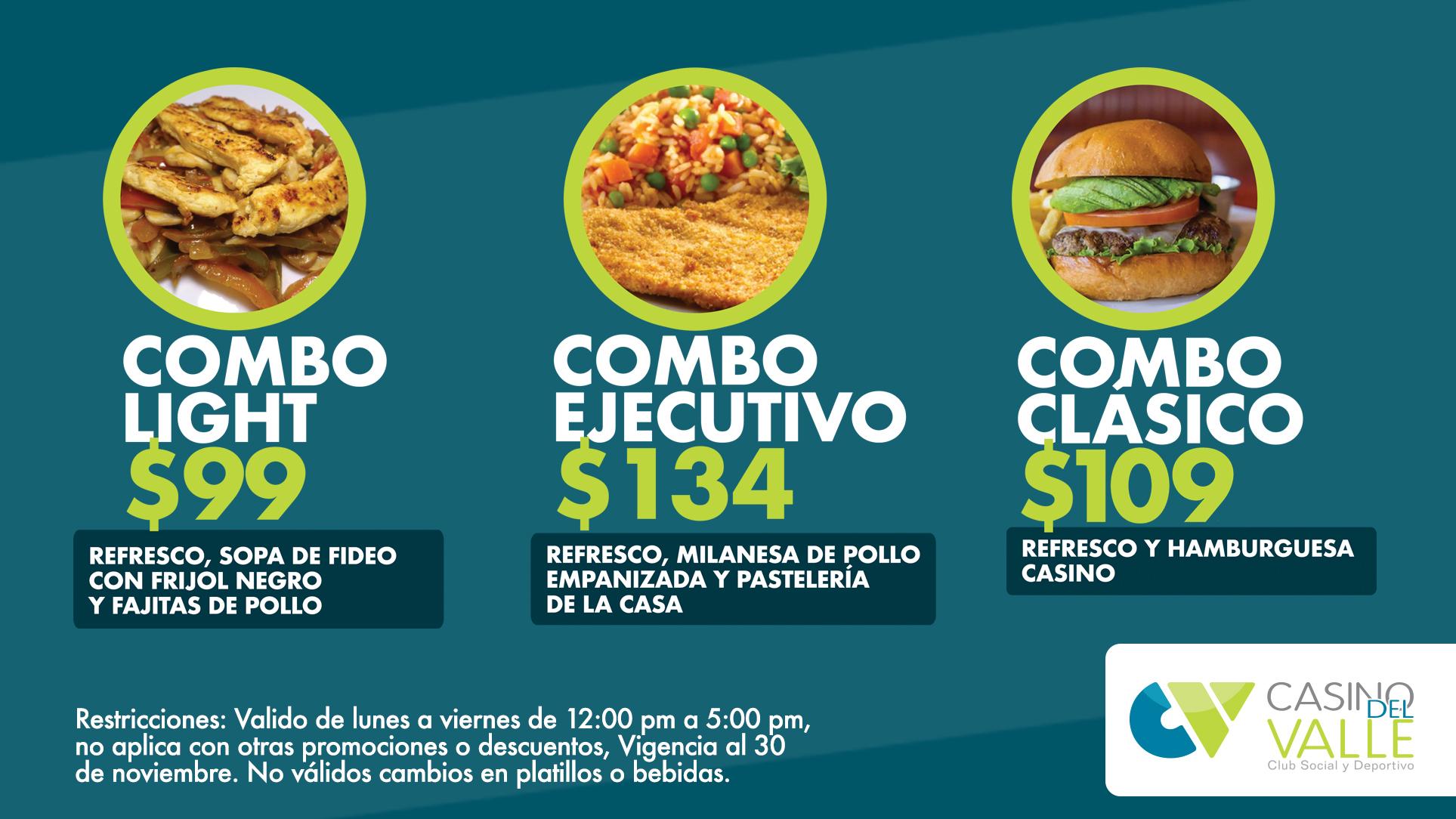 ¡Tenemos nuevas promociones en el Restaurante!