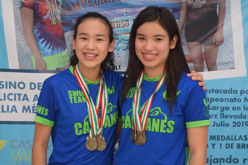 Hannah y Natalia Méndez, dos campeonas con mucho futuro